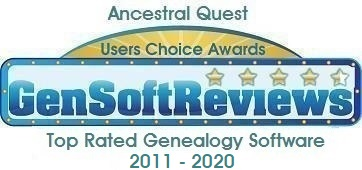 GenSoftReviews Award logo